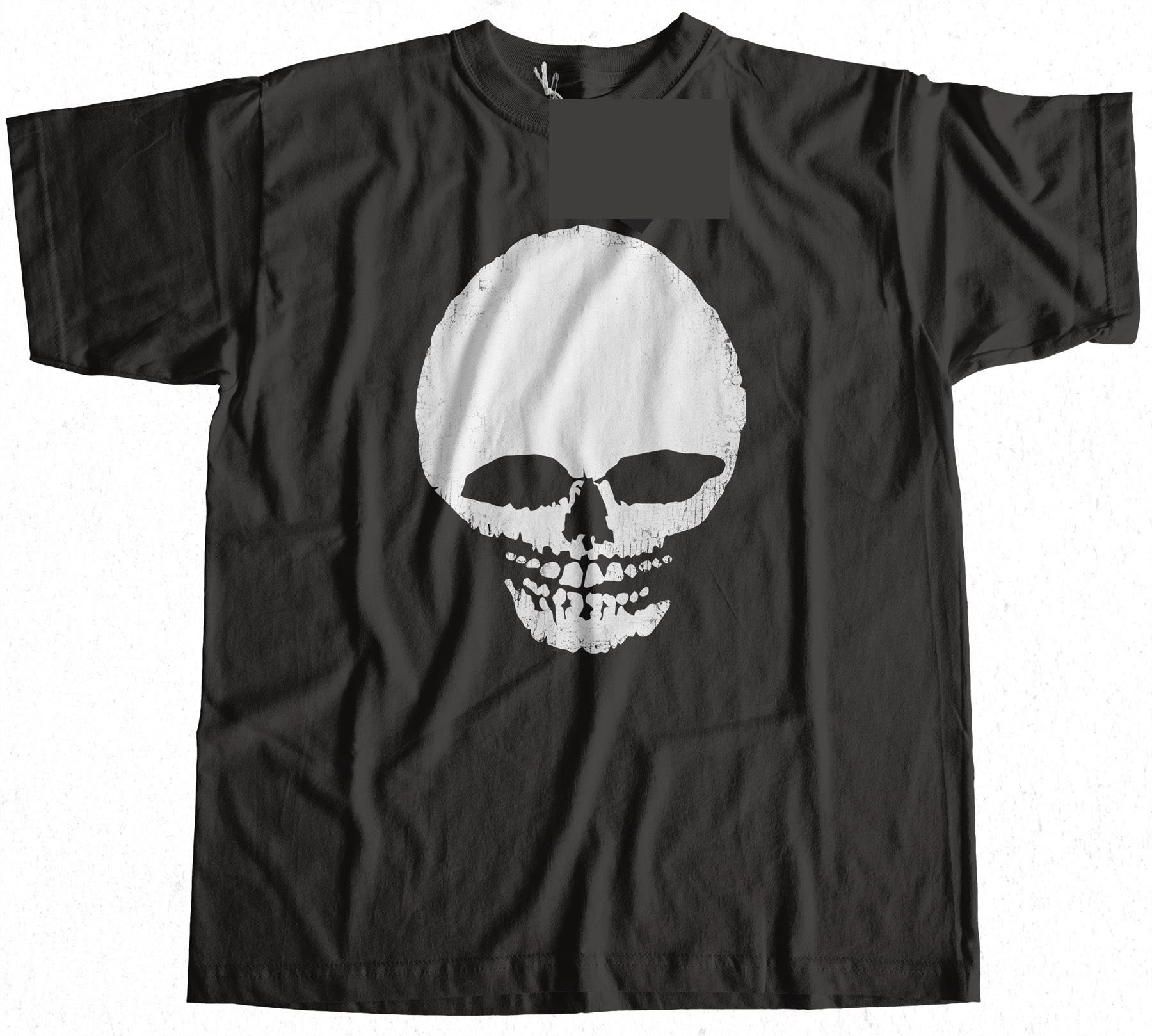 Skull As Worn By Debbie Harry T-Shirt 100% Premium Cotton New Funny Brand Clothing Top Tee Adult T Shirt S-3Xl Normal