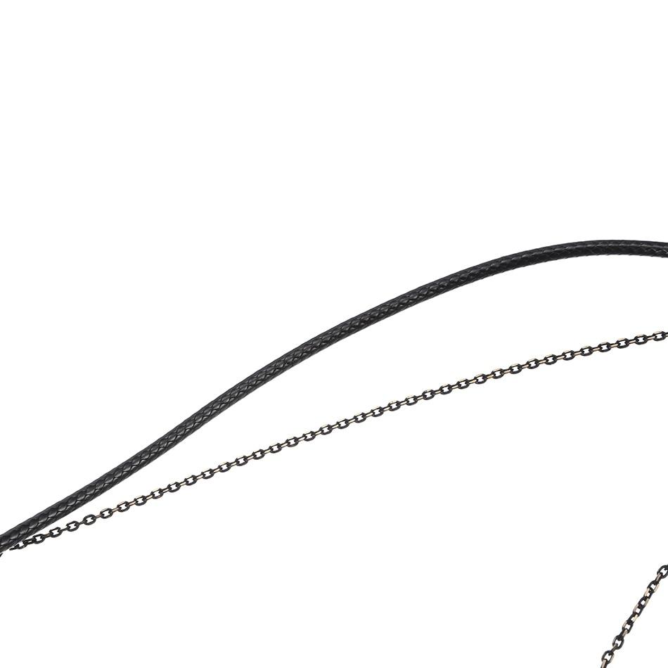 Uyğun-sağlı qadın boyunbağı ifadəsi boyunbağı və asqı - Moda zərgərlik - Fotoqrafiya 5
