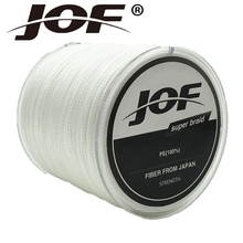 JOF 4Strands 500m 8LB – 100LB Braided Fishing Line PE Strong Multifilament Fishing Line Carp Fishing Saltwater
