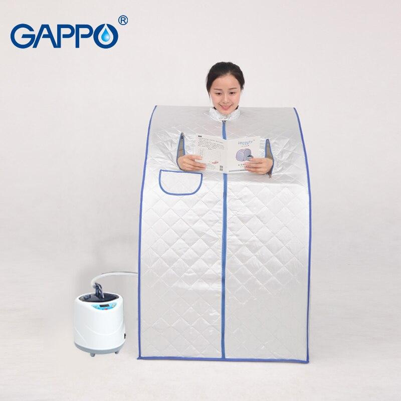 GAPPO паровой сауна Мобильная сауна комнаты полезные кожи инфракрасная, для похудения калорий для ванной SPA с сауна сумка