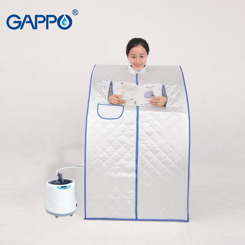 GAPPO Steam Sauna portable sauna room Beneficial skin infrared Weight loss Calories bath SPA with sauna
