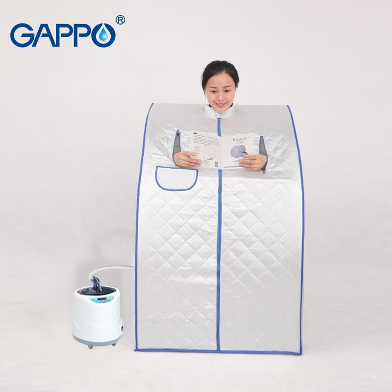 Sauna à vapeur GAPPO sauna portable peau bénéfique infrarouge perte de poids Calories bain SPA avec sac de sauna