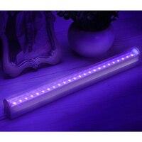 LEDGLE 8W Black Light Fixture Portable UV Light Multi purpose Light Tube UV Light Lamps with Wide Beam Angle 395 405nm