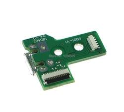 20 шт./лот зарядка через usb Порты и разъёмы Разъем Зарядное устройство Замена платы запчасть для PS4 контроллер JDS-030