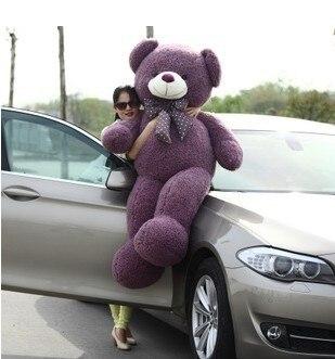 Free shipping high quality teddy bear plush toy  4color to choose \160cm size menwomen size to choose black bondage