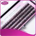 3 trays/lot Mixed Length fidelity 100% eyelash Natural false eyelashes single False Eye lashes Extension Imitation Mink lashes