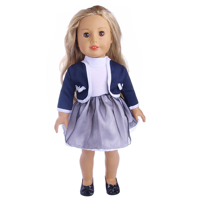 Doll Clothes Cute Dress Fit 18 Inch American Doll Our Generation And Journey Girl Doll Etc For Chrid Christmas Gift