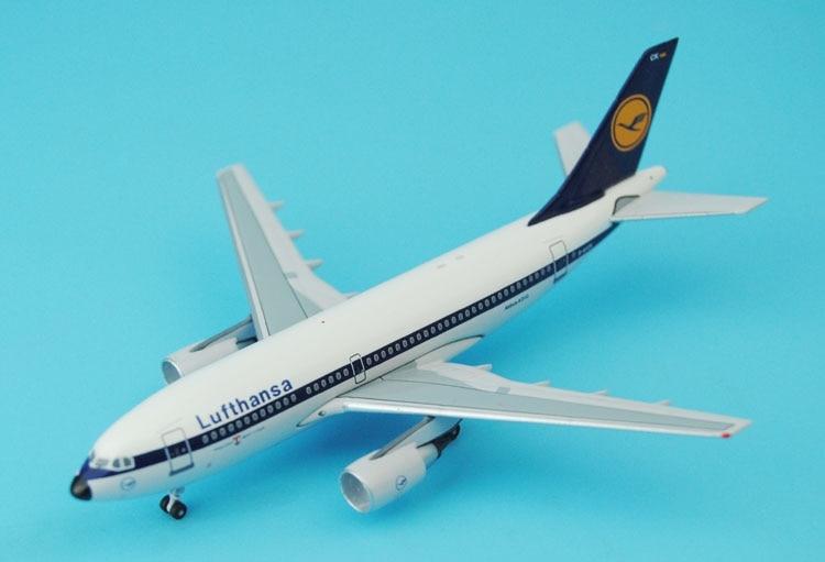 New Aeroclassics 1: 400 Lufthansa A310-200 D-AICK Alloy aircraft model Favorites Model ph 1 400 lufthansa german airlines airbus a380 alloy aircraft model d aimn
