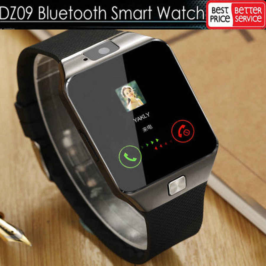 LATEST DZ09 Bluetooth Smart Watch Camera Phone Mate GSM SIM For Android iPhone Samsung