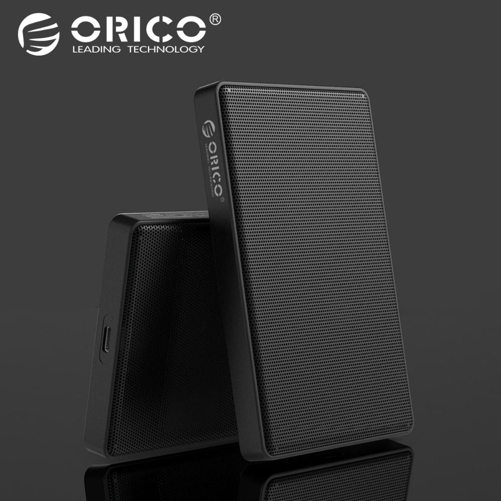 Hot Sale Orico 25 Type C Sata Hdd Case Full Mesh Hard Disk