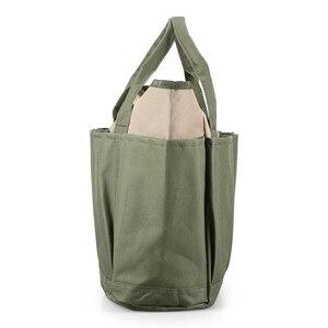 Image 4 - Bahçe alet çantası açık araçları Oxford kumaş bahçe kare kutu tipi çanta için bahçe aracı kiti açık araçları