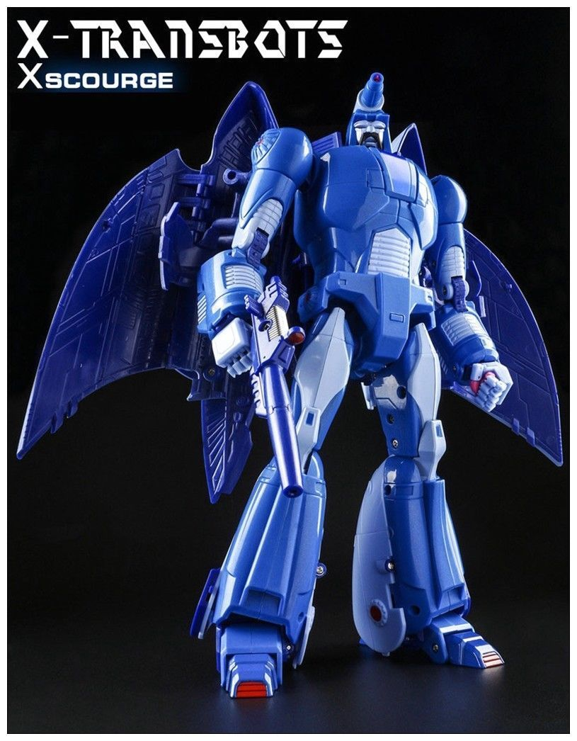 Transformation toy X Transbots MX II Andras G1 Scourge Action figure Reprint New
