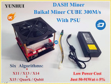 X11 DASH Miner Baikal CUBE 300M/S With Power Supply Support Algorithm X11 / X13 /X14/ X15 / Quar/qubit Better Than Antminer D3