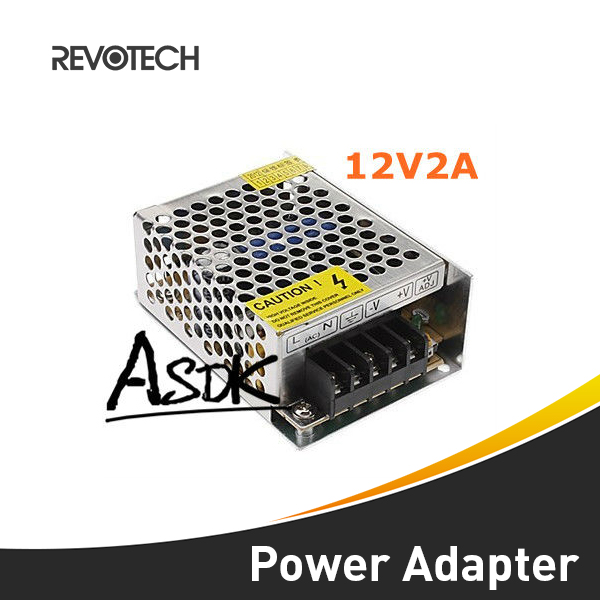 AC 110-220V to DC 12V 2A  Switching CCTV Power Supply Adapter thumbnail