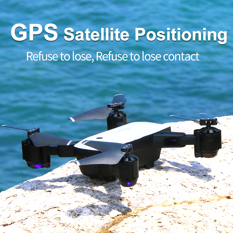 GPS Drone Follow Me FPV Helicopter With 1080P HD 5MP Wide Angle Camera Auto Return Altitude