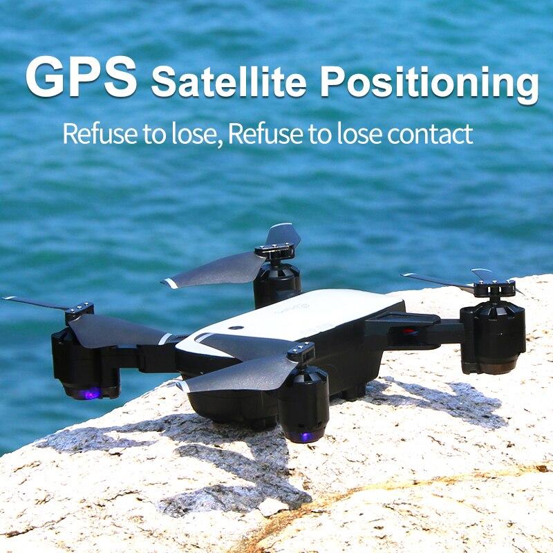 Gps Дрон следуй за мной FPV Вертолет с 1080P HD 5MP широкоугольная камера авто возврат высоты удержание Headless Mode Dron Professional