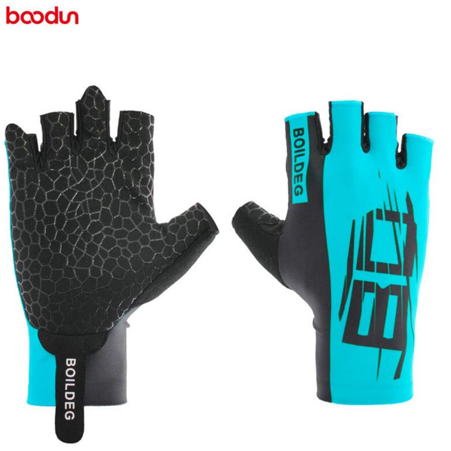 Boodun Cycling Gloves Half Finger Summer Gel Pad Luvas De Ciclismo Men Racing Pro Road Bike Guantes Mtb Bicycle Equipment