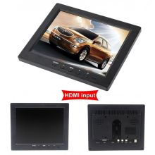 "Free Shipping! HD 8"" TFT LCD Monitor 1204*768 VGA BNC Video Audio HDMI Input For PC,CCTV Camera(China (Mainland))"