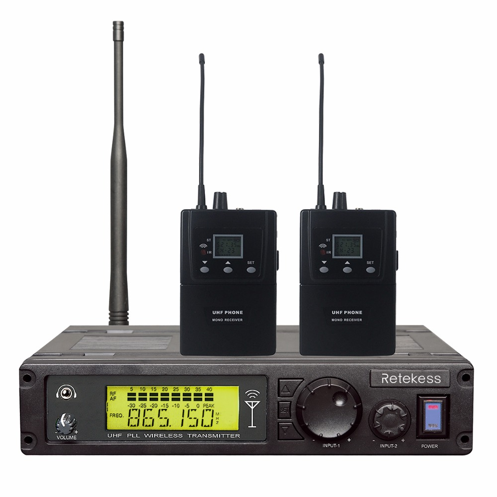 RETEKESS RF Wireless Conference System Simultaneous Interpretation Mono Desktop Audio Transmitter For Meeting Stage Performance high end uhf 8x50 channel goose neck desk wireless conference microphones system for meeting room