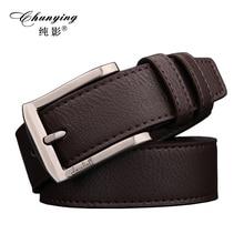 2017 hot new fashion belt men genuine leather strap male belts for men high quality alloy buckle belt for jeans