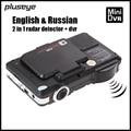 1080P Dash Cam Radar Detector HD Car DVR Recorder 2 in 1 Auto Black Box G-sensor Car Camcorder English & Russian Voice