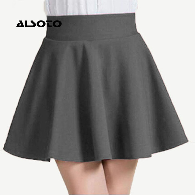 ALSOTO New Women Skirt Sexy Summer skirt Korean Version Short Skater Fashion Female Mini Skirt Women Clothing Bottoms Vadim tutu 3