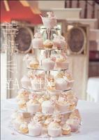 6 layer acrylic cake frame round cake frame wedding wedding cake rack multi - shelf