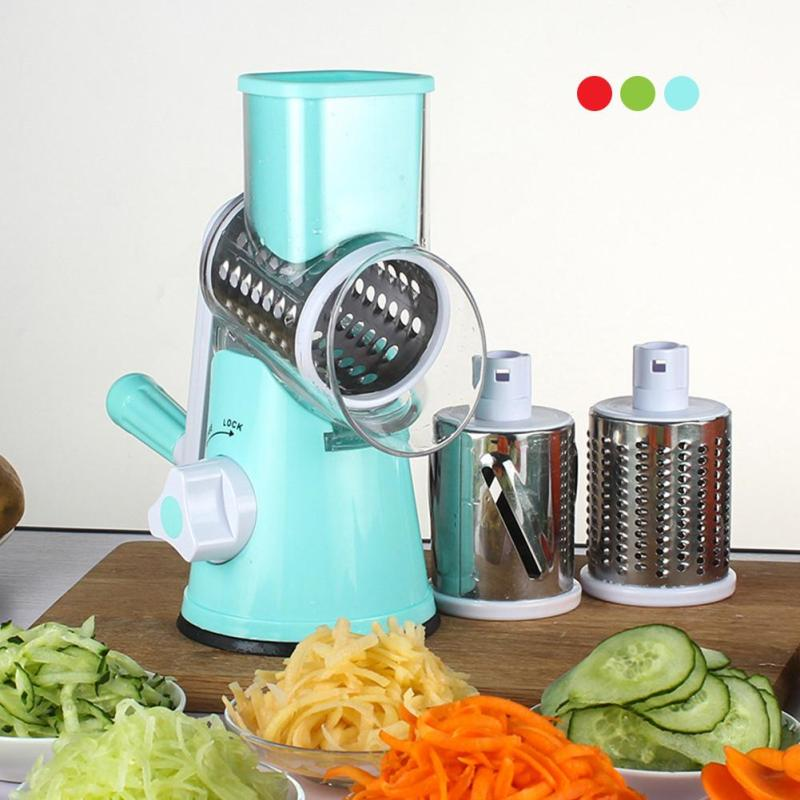3Colors Vegetable Potato Slicer Garlic Clasp Press Shredders For Kitchen Appliances Home Kitchen Tools Accessories Gadgets S3