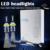 AUXITO 2 x Coche 12 V de La Lámpara Del Faro H4 H11 9005 HB3 HB4 9006 9012 HIR2 H1 H7 H8 H9 LED de Alimentación 80 W 10800LM DRL de luz de Cruce Bombillas