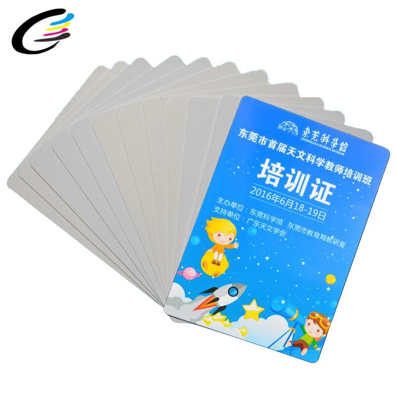 Премиум пустой ПВХ ID карты для Epson или Canon струйный принтер