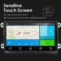 HD! 9 дюймов! Авторадио сенсорный экран для VW Golf gps Polo Tuguan встроенная карта от Европейский склад 2din Автомагнитола