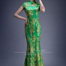 a100086e6b233 Buy green qipao and get free shipping on AliExpress.com