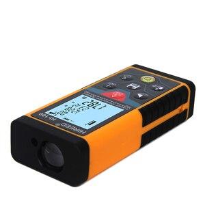 Image 2 - HIREED 40 M 100 M 80 M elektronik seviye El Telemetre Lazer Mesafe Ölçer Dijital Lazer Mesafe Bulucu mezura Test Cihazı