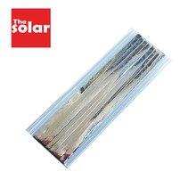 Tab Bus Bar tel 5.0x0.2mm güneş hücreleri PV şerit sekme tel DIY bağlantı şerit GÜNEŞ PANELI