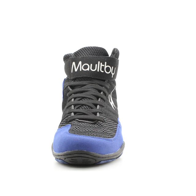 Maultby 1.0 Speed Men's Boxing Training Boot Black / B  Wrestling Shoes