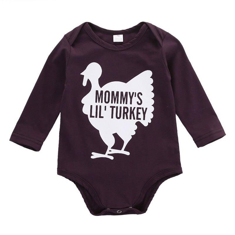 Newborn Infant Baby Boy Girl Kids Cotton Jumpsuit  Clothes Outfit