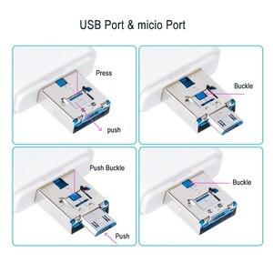 Image 5 - Çoklu 1 TF USB bellek adaptörü için Micro SD kart okuyucu adaptörü Flash sürücü çoklu OTG okuyucu iPhone 5 5S 5C 6 7 8