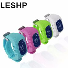 LESHP GPS smart watch Q50 Kid Safe Wristwatch GSM Finder Locator Tracker SIM SOS Anti-Lost Children Watch for iOS Android PK Q60(China)