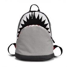цены children School Bags for boys girls cartoon shark backpacks Kids Schoolbag kindergarten school backpack mochila escolar infantil