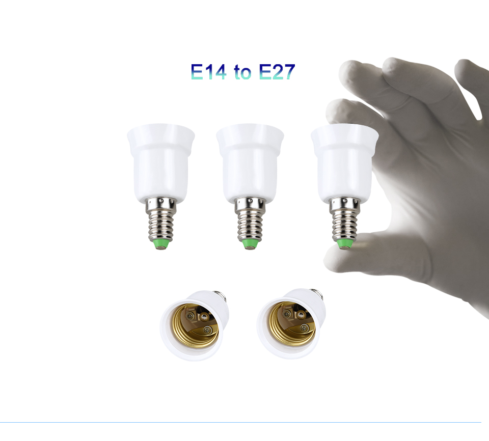 lamp holder base E27 to E14 B22 (14)