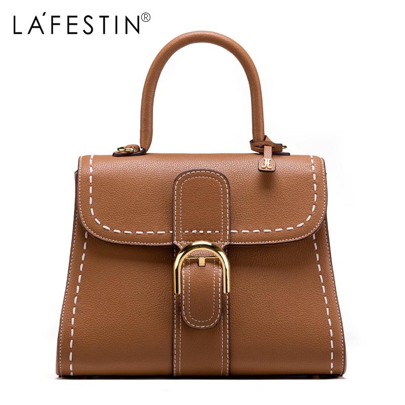LAFESTIN Women Handbag Luxury Vintage Retro Tote Shoulder Crossbody Bags High Quality Female Messenger Bags Brand