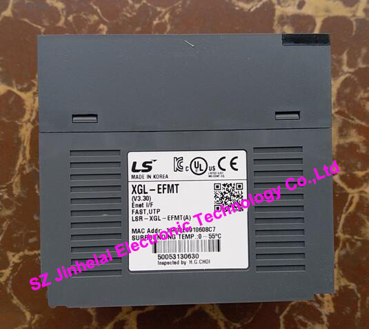 100% New and original  XGL-EFMT  LS(LG)  PLC Communication module, Twisted pair,Open 12storeez пальто халат черный fw17 18