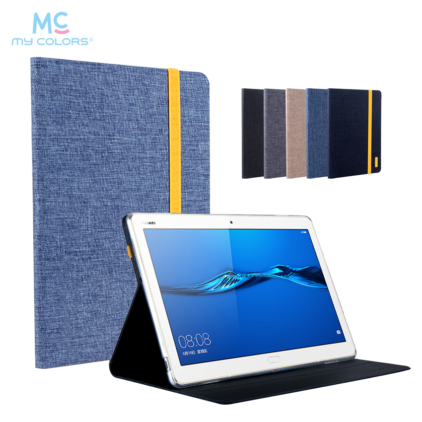 Mediapad M3 Lite 10.0 10.1'' PU Leather Case Cover Tablet Funda For Huawei MediaPad M3 Lite 10 BAH-W09 BAH-AL00 Protective Stand for 2017 huawei mediapad m3 youth lite 8 cpn w09 cpn al00 8 tablet pu leather cover case free stylus free film