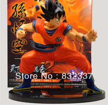 High Quality Pop Japanese Anime Cartoon DragonBall  Z Action figure Goku Classic Pose Free Shipping