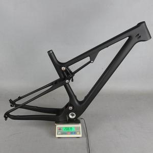 Image 5 - 29 Full Suspension 142*12mm MTB Bicycle Carbon frame 29er with 135*9mm /29er boost suspension  148*12 mountain bike frame FM078