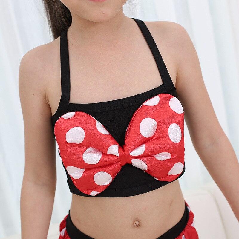 Girl Swimming Suit Circle Point Printing Children Swimming Suit Baby Swimwear bikini set swimsuit beach