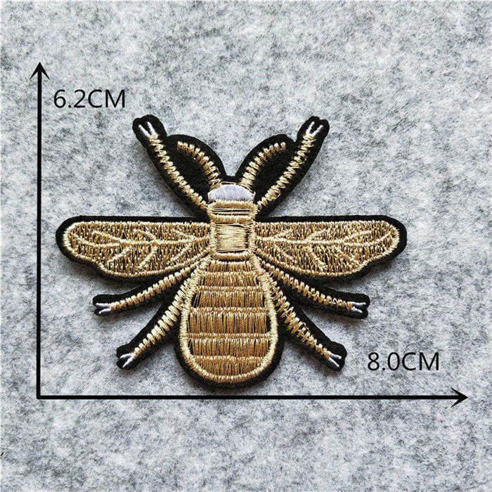 Мультяшная декоративная заплатка, сердце, дерево, Бабочка, узор, вышитая аппликация, нашивки для DIY, железные наклейки на одежду - Цвет: C6226