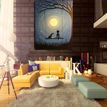 Large Modern Handmade oil Painting Wall Art Picture Handpainted Abstract landscape Canvas wall art still life picture