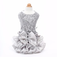 High End Luxury Dresses Wedding Princess Banquet Dog Pet Clothes Clothing Autumn Spring Shih Tzu Chihuahua