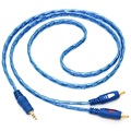 High Quality 1.5/3/5M 3.5MM Male Jack To 2RCA Male Stereo Audio Cable One To Two AUX Audio Cable For Computer DVD Audio Devices